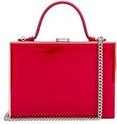Mark Cross Rear Window Evening Bag in Red   FWRD