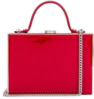 Mark Cross Rear Window Evening Bag in Red | FWRD