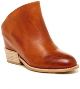 Antelope Leather Clog Bootie Leather Mule