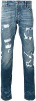 Philipp Plein Fukuko straight cut jeans