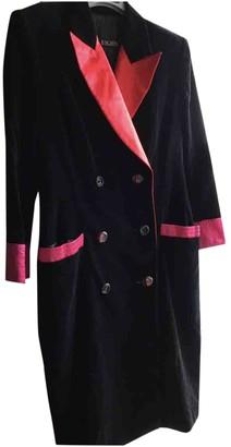 Escada Black Silk Coat for Women Vintage