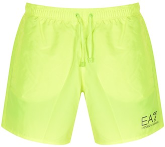 EA7 Emporio Armani Sea World Swim Shorts Yellow