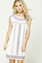 Forever 21 Contemporary Embroidered Dress