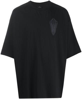 Marcelo Burlon County of Milan logo-patch T-shirt