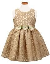 Sorbet Floral Burnout Party Dress