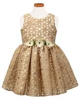 Sorbet Girl's Floral Burnout Party Dress