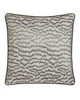"Sferra Dante 18""Sq. Ikat Wave Pillow"