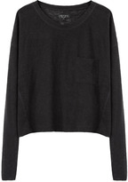 Rag & Bone cropped pocket tee