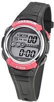 Freegun Boy's Quartz Watch with Black Dial Digital Display and Plastic Black - EE5166
