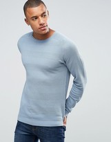 ONLY & SONS Jumper With Tonal Stripe Detail