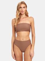 Thumbnail for your product : Frankie's Bikinis Jenna High Rise Rib Bottom