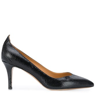 Isabel Marant Snake-Effect Pumps
