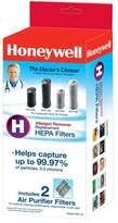 Honeywell True HEPA Allergen Remover Replacement Filter H - 2 Pack