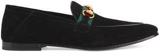 Gucci Web Detail Horsebit Loafers
