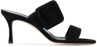 Manolo Blahnik buckle-strap sandals