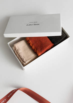 And other stories Metallic Socks Gift Set