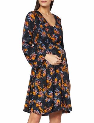 Mama Licious Mamalicious Women's MLMADELYN Mary L/S Woven ABK Dress 2F