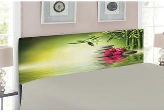 Spa Upholstered Panel Headboard East Urban Home Size: Twin