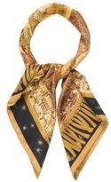 Hermes Sur Un Tapis Volant Silk Scarf