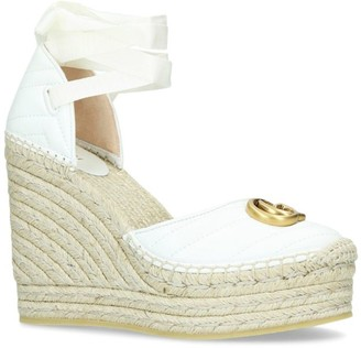 Gucci Palmyra Wedge Sandals