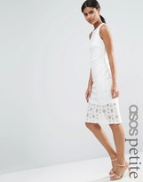 Asos Occasion Lace Skirt Pencil Dress