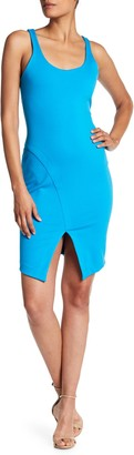 Amanda Uprichard Alberta Scoop Neck Dress