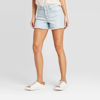 Universal Thread Women's High-Rise Slim Fit Jean Shorts - Universal Thread͐