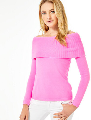 Lilly Pulitzer Christin Off-The-Shoulder Sweater