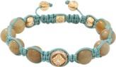 SHAMBALLA JEWELS Yellow Sapphire Beaded Bracelet