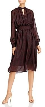 OPT Ceto Ditsy Floral Midi Dress