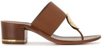 Tory Burch Low Heel Sandals
