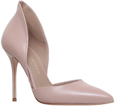 Kurt Geiger Strike Two Part Court Shoes, Nude