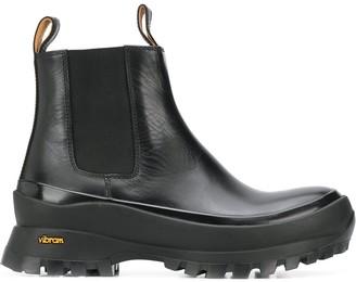 Jil Sander Ridged Sole Boots
