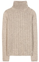 Loro Piana Boylston Cashmere Turtleneck Sweater