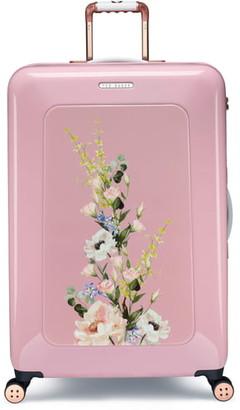 Ted Baker Large Elegant Print 32-Inch Hard Shell Spinner Suitcase