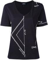 Armani Jeans printed T-shirt