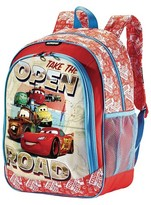 "American Tourister Disney 16"" Cars Kids Backpack - Red"