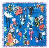Christian Lacroix Women's Croquis Silk Square Scarf