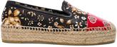 Alexander McQueen Leather Espadrilles