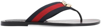 Gucci 10MM NYLON THONG FLATS
