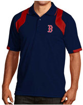Antigua Men's Short-Sleeve Boston Red Sox Fusion Polo