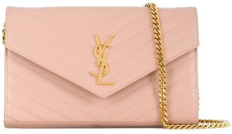 Saint Laurent Monogram chain clutch