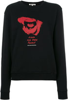 McQ by Alexander McQueen printed sweatshirt - women - Cotton - XS