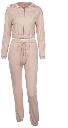Goodnight Macaroon 'Heri' Hooded Loungewear Set