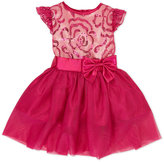 princess faith (Toddler Girls) Sequin Bodice Bow Dress