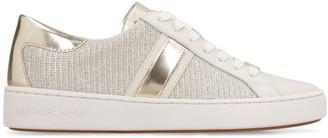 Michael Kors Keaton Stripe Embellished Slip-on Sneakers