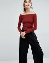 Vero Moda Jersey Bardot Top