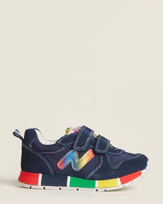 Naturino Toddler Boys) Dark Blue Nylon Low-Top Sneakers