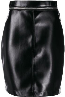Philosophy di Lorenzo Serafini Zip Waist Mini Skirt