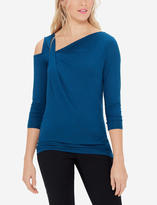 The Limited Asymmetric Cold Shoulder Top